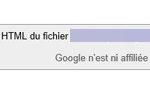 Google avait sauvegardé les données.