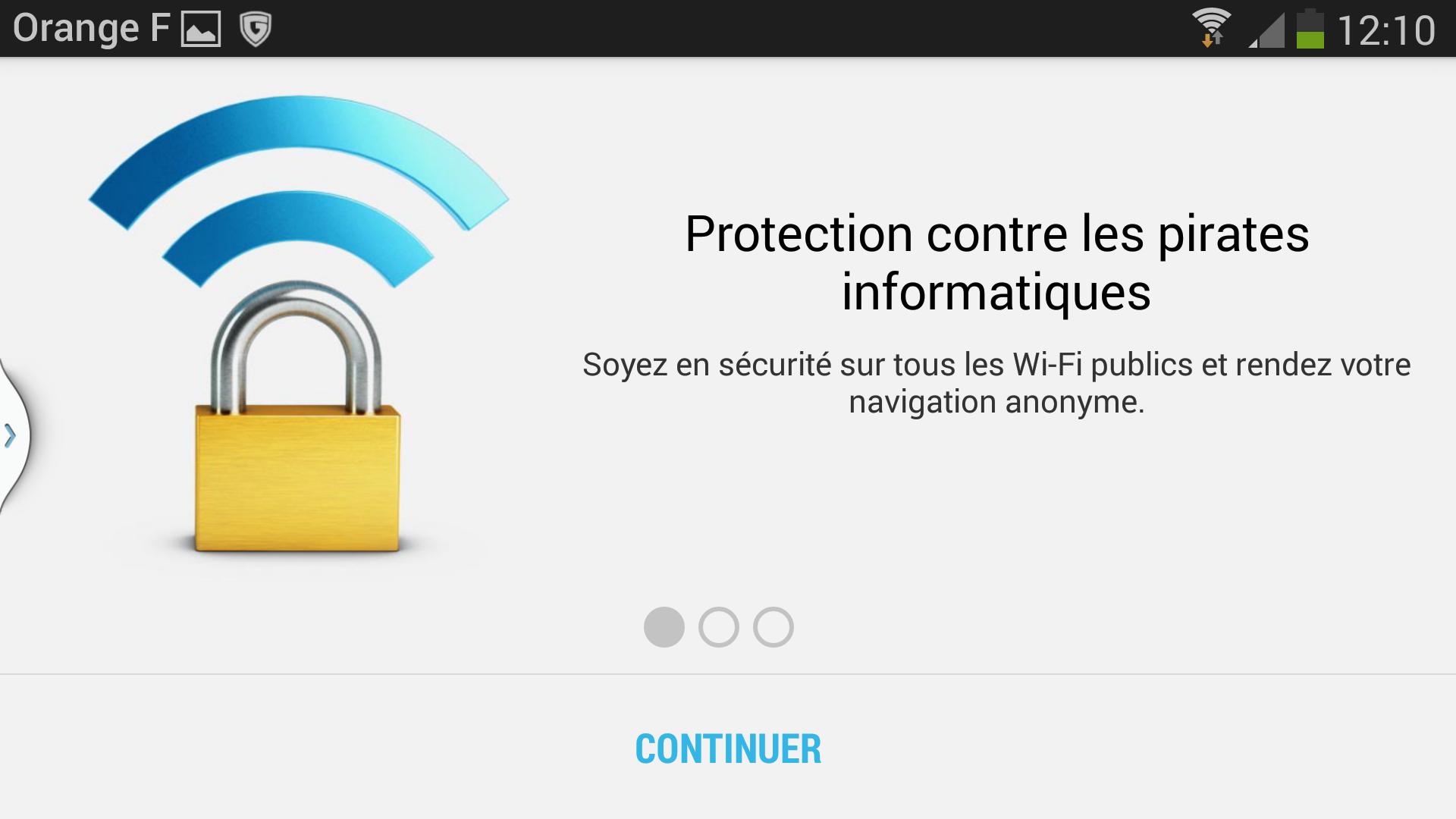 connexions wifi gratuites VPNs