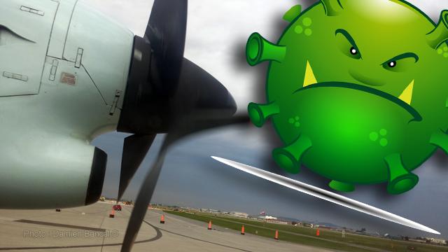 Compromission secteur aérien