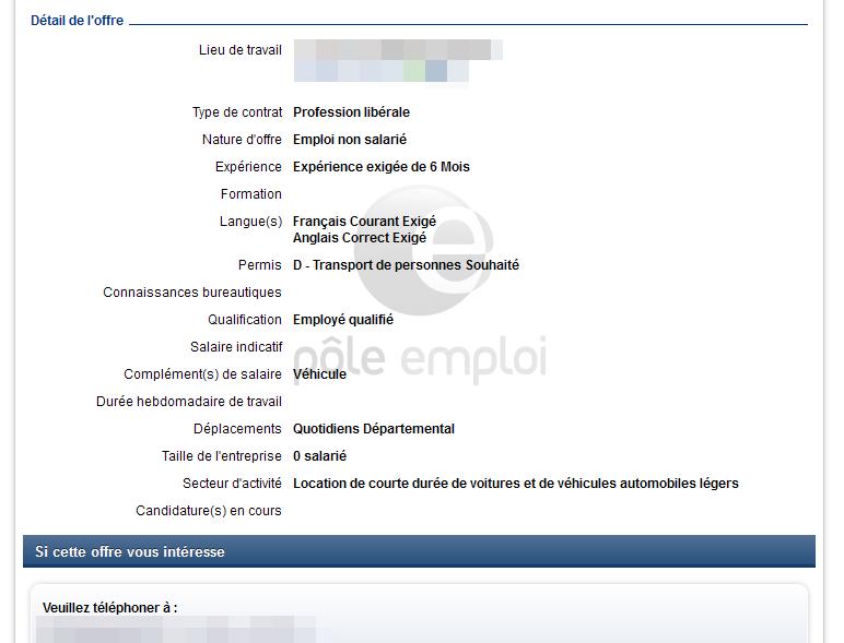 Fraude Pole Emploi Diffuse De Fausses Annonces Data Security Breach