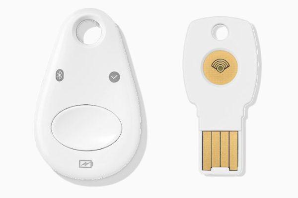 clés de sécurité Titan